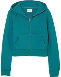 Simon Miller - Burke Cotton-terry Hooded Sweatshirt - Lyst
