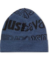 Just Cavalli - Printed Knitted Beanie - Lyst