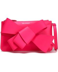 Delpozo - Bow-embellished Leather Clutch - Lyst