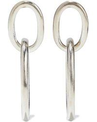 Ben-Amun Versilberte Ohrringe Größe - Metallic