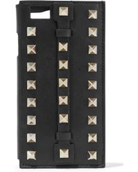 Valentino - Studded Leather Iphone 6 Case - Lyst