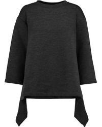 Marni | Asymmetric Stretch Wool-blend Sweatshirt | Lyst