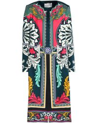 Mary Katrantzou - Printed Cotton And Silk-blend Jacket - Lyst