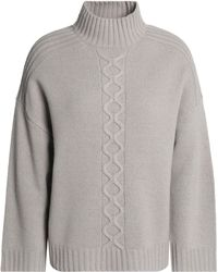 Goat - Cable-knit Wool-blend Sweater - Lyst