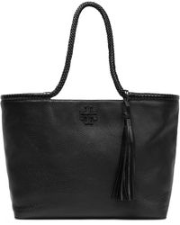 Tory Burch - Leather Tote - Lyst