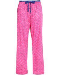 Calvin Klein - Printed Cotton-jersey Pyjama Trousers - Lyst