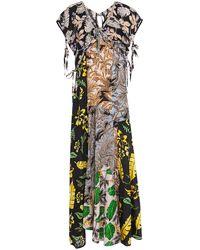 3.1 Phillip Lim - Patchwork Maxi Dress - Lyst