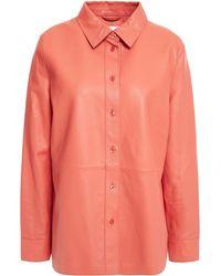 Stand Studio Leather Shirt - Multicolour