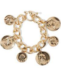 Kenneth Jay Lane - Woman Gold-tone Bracelet Gold - Lyst