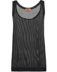 Missoni Open-knit Tank - Black