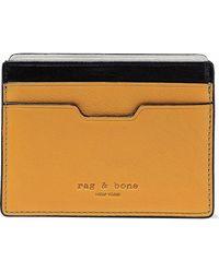 Rag & Bone - Leather Cardholder - Lyst