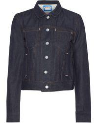 Acne Studios Cliff Denim Jacket Dark Denim - Blue