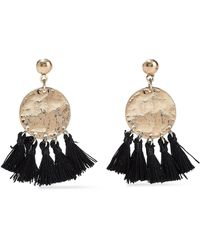 Kenneth Jay Lane - Burnished Gold-tone Tassel Earrings Gold - Lyst