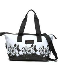 adidas By Stella McCartney Sports Bag With A Logo in Black - Lyst 87b1dfbc47782
