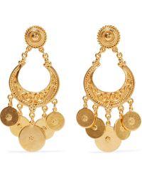 Ben-Amun Gold-tone Earrings Gold - Metallic