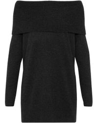 Joie - Off-the Shoulder Wool And Cashmere-blend Jumper - Lyst