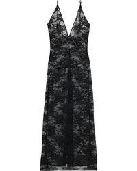 Stella McCartney Sienna Sparkling Stretch-lace Nightdress - Black