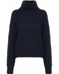 Markus Lupfer - Ribbed-knit Turtleneck Sweater - Lyst