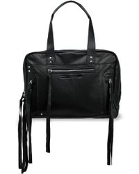 McQ - Leather Tote - Lyst