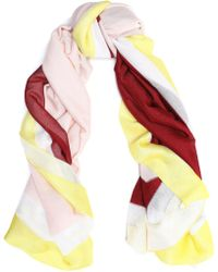 Missoni - Color-block Knitted Scarf - Lyst