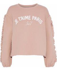 Cinq À Sept Sweatshirt - Pink