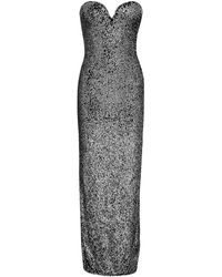 Naeem Khan Strapless Sequin-embellished Tulle Gown - Multicolour