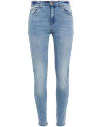 MICHAEL Michael Kors Selma High-rise Skinny Jeans - Blue