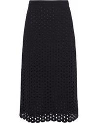 Derek Lam - Cutout Stretch-knit Skirt - Lyst