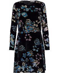 Rebecca Minkoff - Steffy Burnout Velvet Mini Dress - Lyst