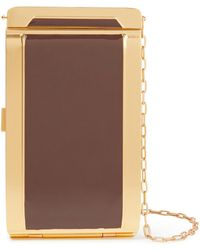Zimmermann Gold-tone Enamel Cigarette Case - Brown