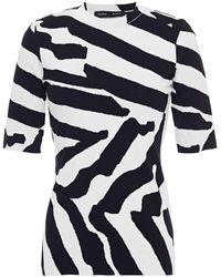Proenza Schouler - Jacquard-knit Top White - Lyst