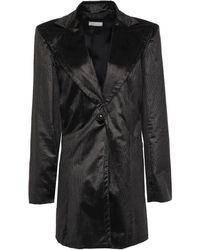 Nina Ricci Cotton-blend Corduroy Blazer - Black