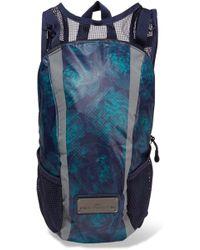 adidas By Stella McCartney - Run Mesh-paneled Printed Shell Backpack - Lyst