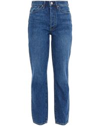 3x1 Claudia High-rise Straight-leg Jeans - Blue
