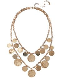 Kenneth Jay Lane - Gold-plated Necklace Gold - Lyst