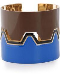 Missoni - Gold-tone Enamel Bracelet - Lyst