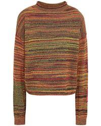 The Upside Nitara Marled Cotton Jumper - Multicolour