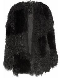 RTA - Guinevere Faux Fur Coat - Lyst