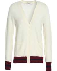 Joie - Wool And Silk-blend Cardigan - Lyst