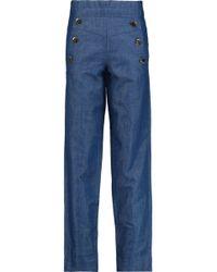 Co. - High-rise Straight-leg Jeans - Lyst