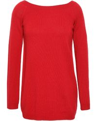 Valentino - Woman Cashmere Sweater Red - Lyst