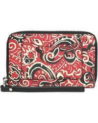 Marc Jacobs - Printed Leather Wallet - Lyst
