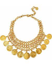 Ben-Amun - Gold-tone Necklace - Lyst