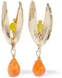 Rosantica Gold-tone Crystal Earrings Gold - Metallic