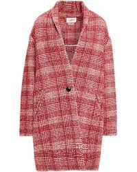 Étoile Isabel Marant Tel Aus Tweed Größe 38 - Red