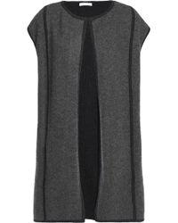 Duffy - Cashmere And Wool-blend Vest Dark Grey - Lyst