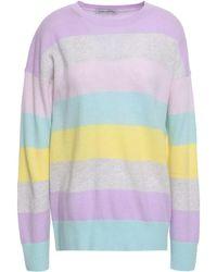 Autumn Cashmere Striped Cashmere Sweater - Mehrfarbig