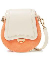 Emilio Pucci Dora Mini Printed Leather And Suede Shoulder Bag - Multicolor