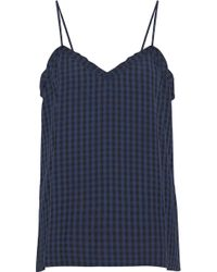 Tibi - Gingham Flannel Camisole - Lyst