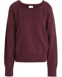 Rag & Bone - Cotton-jersey Sweatshirt - Lyst
